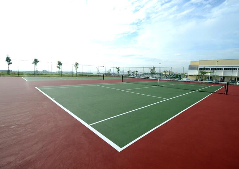 tennis court PU contractors